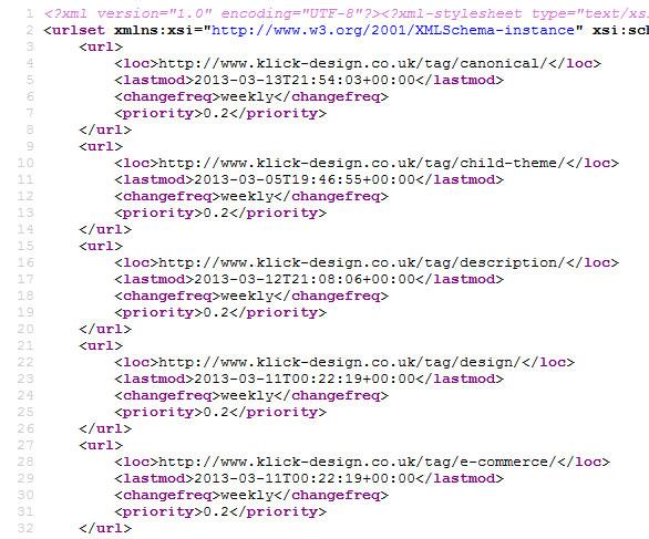 seo search engine optimisation klick designs